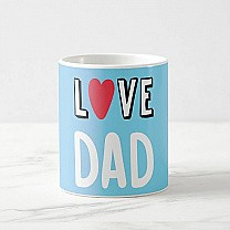 Love Dad Printed Mug