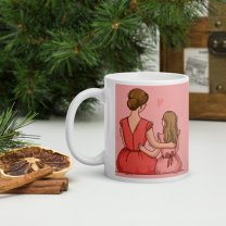 """""""First My Mother Forever My Friend"""" Printed Mug"""