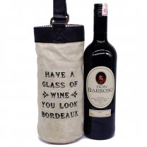 Quality Wine Bag With Red Sweet Wine