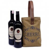 Two Don Barroso Sweet Red Wine With Cheers Double Wine Bag