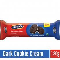 McVitie's Dark Cookies Cream 120g