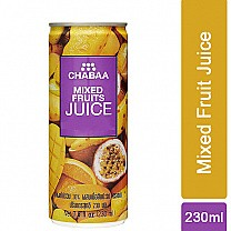 Chabaa Mixed Fruit Can Juice 230ml