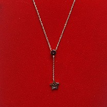 Necklace With Smiley Star Locket