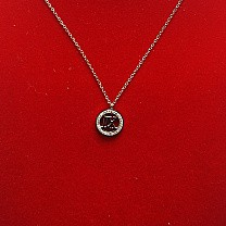 Necklace With XII Shaped Locket
