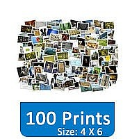 100 Photo Prints (4 X 6) Set Gift
