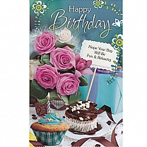 Happy Birthday Hope Your Day Will Be Fun & Relaxing - Greeting Card