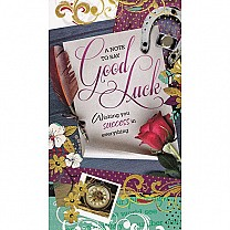 A Note To Say Good Luck - Greeting Card