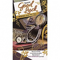 Special Good Luck Wishes Just For You - Greeting Card