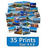 35 Photo Prints (4 X 6) Set Gift