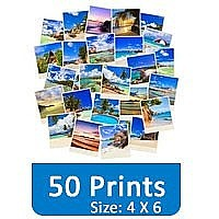 50 Photo Prints (4 X 6) Set Gift