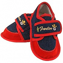 Farlin Red Babies Booties (BF-475R) - Three Sizes Available