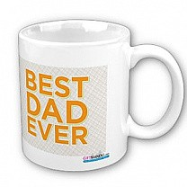 Best Dad Ever Coffee Cup (Father's Day Mug Gift)