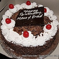 Black Forest Cake for Out of Valley Cities - Pick Your Flavor
