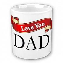 Love you Dad (Ribbon Design)