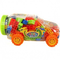 Fun Blocks Learning Gift (Exciting Car Case)