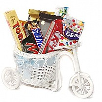 Chocolates Delivery on Rickshaw (11 Items)