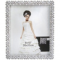 Designer's Photo Frame - Table Top (Silver Stone Design)