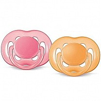 Philips Avent Freeflow Twin Soother 6-18 Months