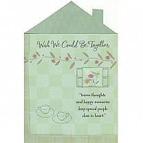 Wish We Could Be Together - Greeting Card