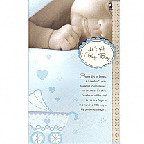 It's A Baby Boy - Greeting Card