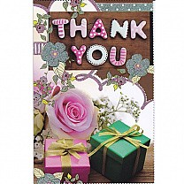 Thank You - Greeting Card (GC-5322)