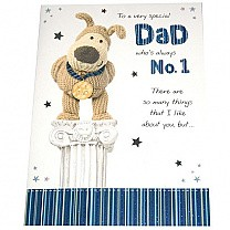 Dad Who's Always No 1 - Greeting Card