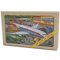 4 in 1 Wooden Picture Puzzles of Transportation