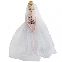 Beauty and Stylish Princess Doll - White Dress