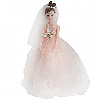 Beauty and Stylish Princess Doll (Orange Dress)