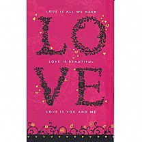 Love Is You and Me - Greeting Card