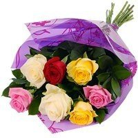Lucky 7 Roses Bouquet (You're My Lucky One)
