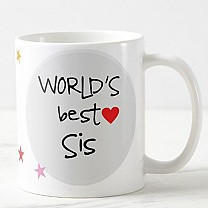 World's Best Sister Ceramic Coffee Cup