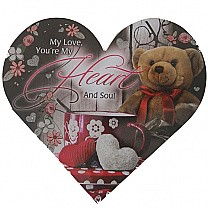 My Love You're My Heart and Soul - Greeting Card