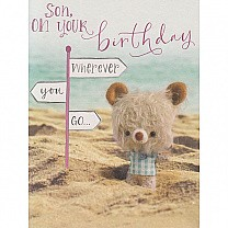 Son, on Your Birthday - Greeting Card