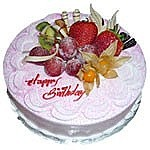 Strawberry Cake for Pokhara Only