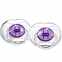 Philips Avent Translucent Soothers 3-6 Months