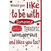 Would You Like To Be With Someone - Greeting Card