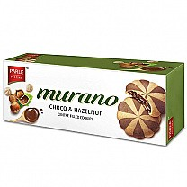 Parle Murano Choco & Hazelnut Centre Filled Cookies 60g