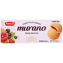 Parle Murano Mixed Berries Centre Filled Cookies 60g