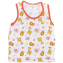 Peach Cotton Sendo Vest For Baby (Size M & L)