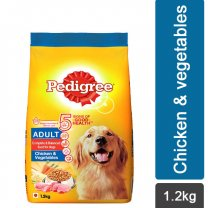 Pedigree Chicken & Vegetables Dry Dog Food 1.2Kg