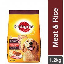 Pedigree Meat & Rice Dry Dog Food 1.2Kg