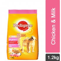 Pedigree Chicken & Milk Dry Puppy Food 1.2Kg