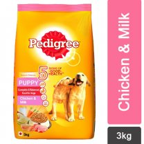 Pedigree Chicken & Milk Dry Puppy Food 3Kg