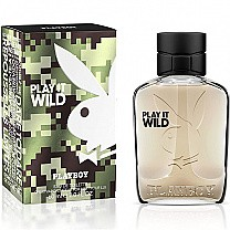 Playboy Play It Wild Perfume Spray For Him 60ml