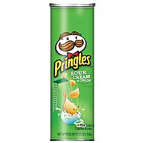 Pringles Sour Cream & Onion 158g (From US)