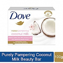 Dove Purely Pampering Coconut Milk Beauty Soap Bar 100gm