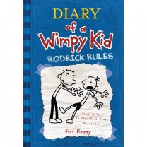 The Diary of A Wimpy kid: Rodrick Rules by Jeff Kinney