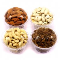 Healthy Dry Nuts in Special Travel Pack