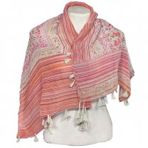 Multi Color Printed Cotton Scarf For Ladies